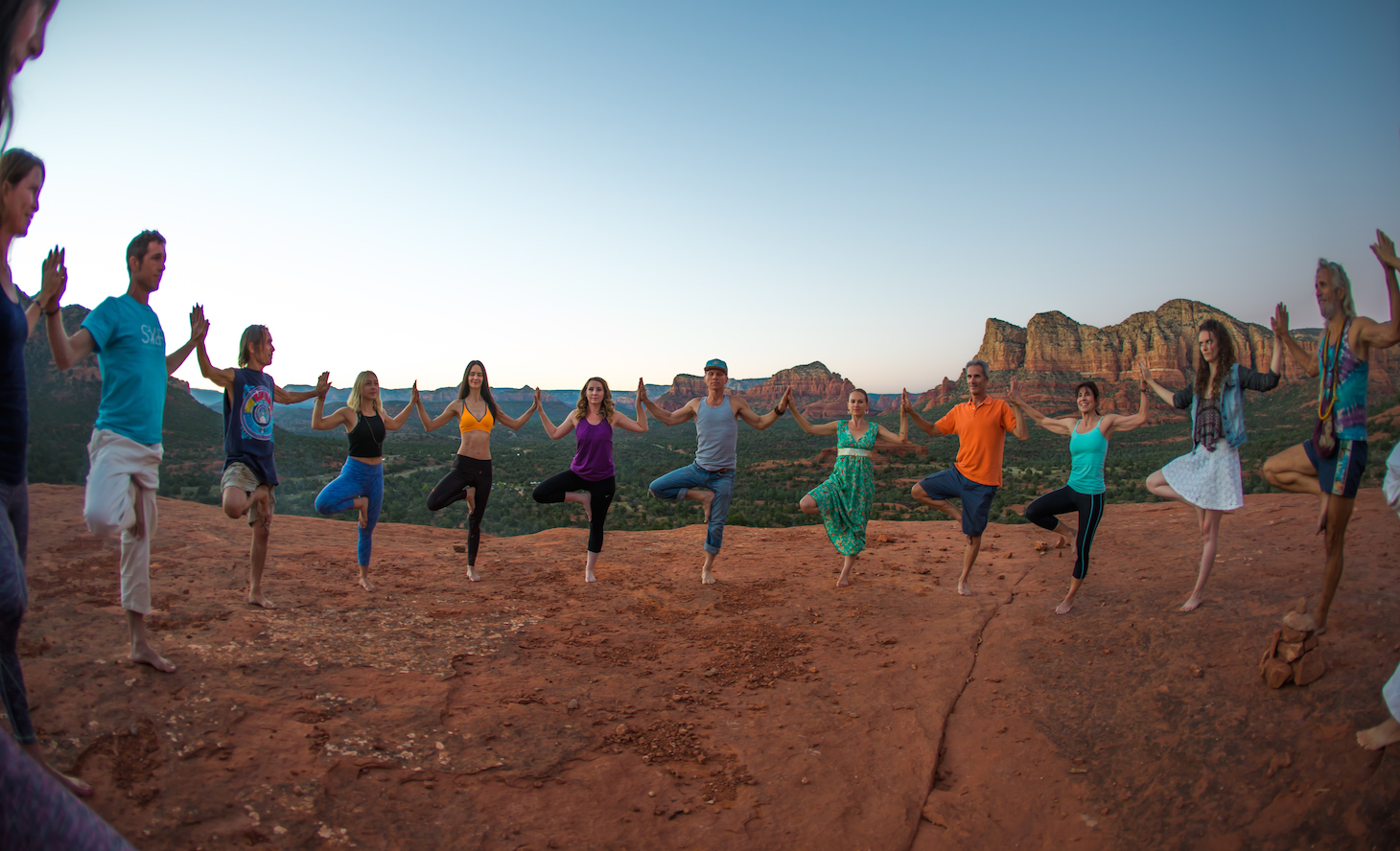 yoga retreats sedona tours yoga hikes Aumbase Sedona