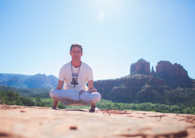 Marc Titus at Cathedral Rock, Sedona - Arizona