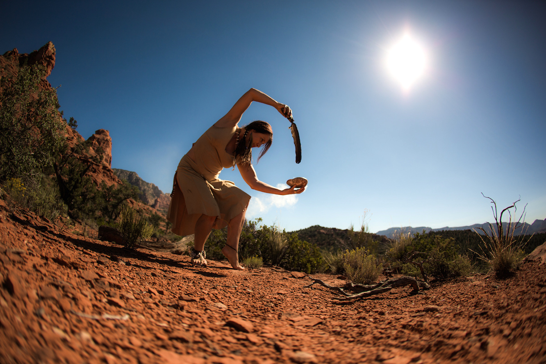 Amalia Camateros in Sedona, Arizona